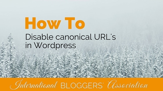 How to Disable Canonical URLs in WordPress