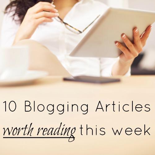 Blogging Articles Worth Readingg