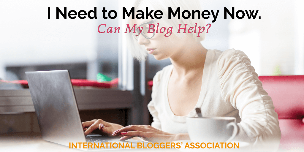 how to make money off my blog