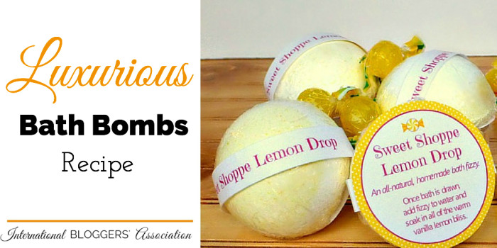 Recipe: Luxurious Bath Bombs and Shower Fizzies