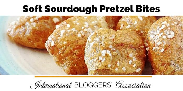 Delicious and Soft Sourdough Pretzel Bites