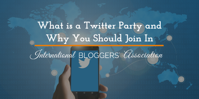 What is a Twitter Party and Why You Should Join In