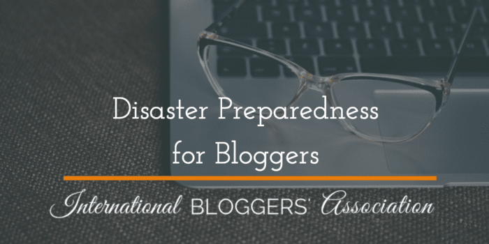 Technology glitches happen all the time! How can you prepare before they strike? Disaster Preparedness for Bloggers can help you avoid a blogging disaster!