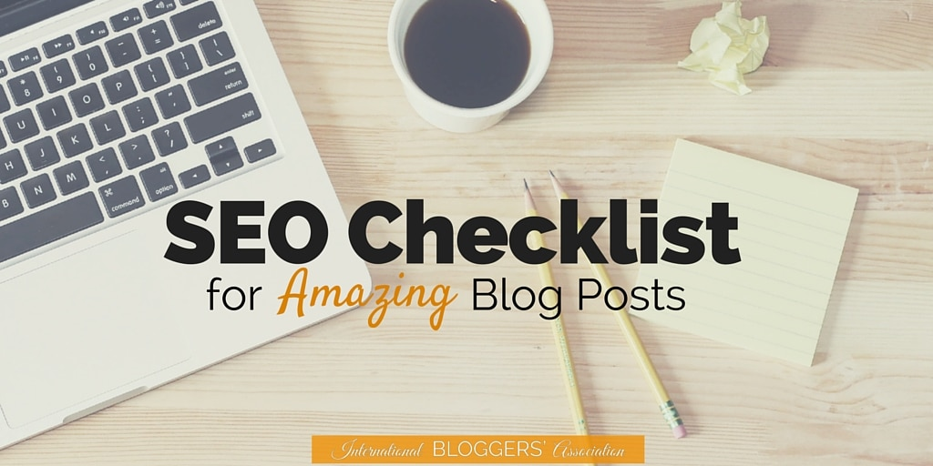 Download this FREE comprehensive SEO checklist for blog posts from someone who lands on the first page of search results, in the first spot. If you want to stop spinning your SEO wheels, use this checklist!