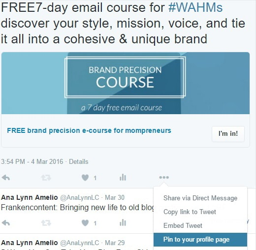 how-to-pin-lead-gen-card - HOW TO GROW YOUR EMAIL LIST WITH TWITTER