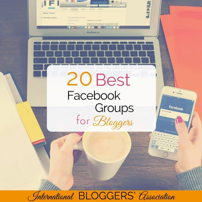 What are the best Facebook groups for bloggers? Read what five experienced bloggers say on this topic and enjoy links to 20 fabulous Facebook groups.