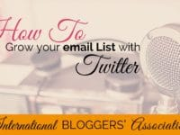 Grow your email list with ease! Learn how Twitter Lead Generation Cards make it easy to collect email addresses and grow your email list with Twitter.