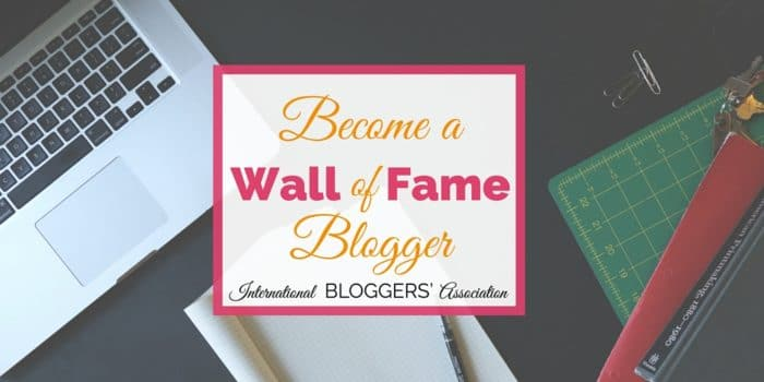 How to Become July's Wall of Fame Blogger!
