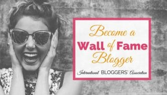 Become a Wall of Fame Blogger! Enter Now to Get Featured by the IBA