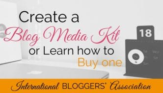 Create a Blog Media Kit or Learn How to Buy One