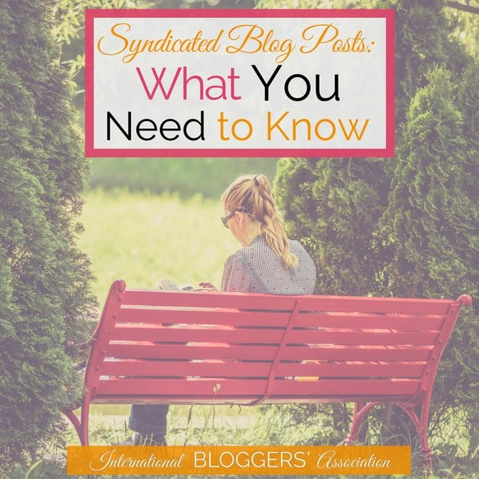 Have you ever wondered what syndicated blog posts were? How can they benefit you as a blogger? Is there anything you should worry about before submitting your links? Learn all the best tips to help you grow your blog!