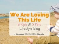 Wowza! Six kids and five pets??? Heidi Smith from We Are Loving This Life may just be our latest superwoman to join the IBA! Learn more about her blog and busy mom life here. #momblogger