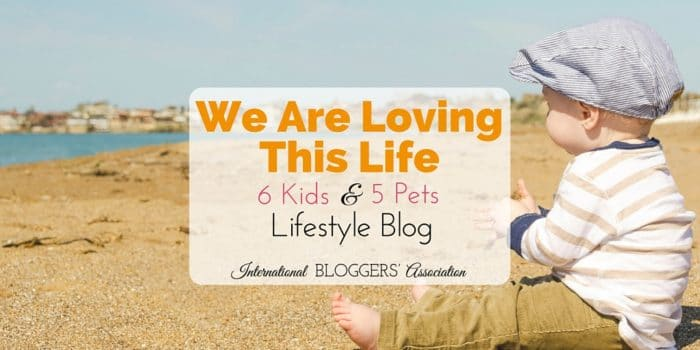 We Are Loving This Life – A Six Kids and Five Pets Lifestyle Blog!