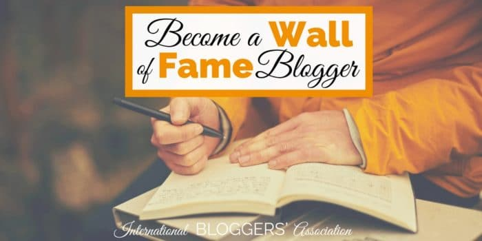How to Become August's Wall of Fame Blogger with Submission Guidelines
