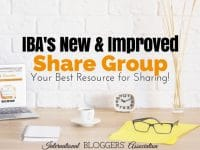 Do you struggle with Facebook sharing groups? I am so excited to announce IBA's New Improved Share Group that will end all your headaches!
