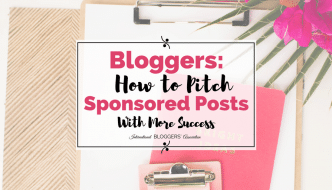 How to Pitch Sponsored Posts With More Success!