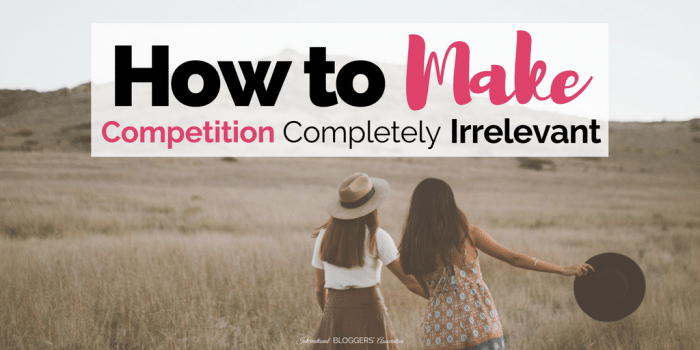 Wall of Fame Editor's Choice: How to Make Competition Completely Irrelevant
