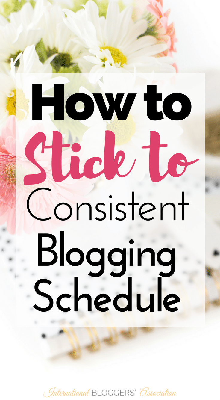 Consistency is key, but it isn't always easy to achieve. Let me share with you some tips to help you stick to your blogging schedule.