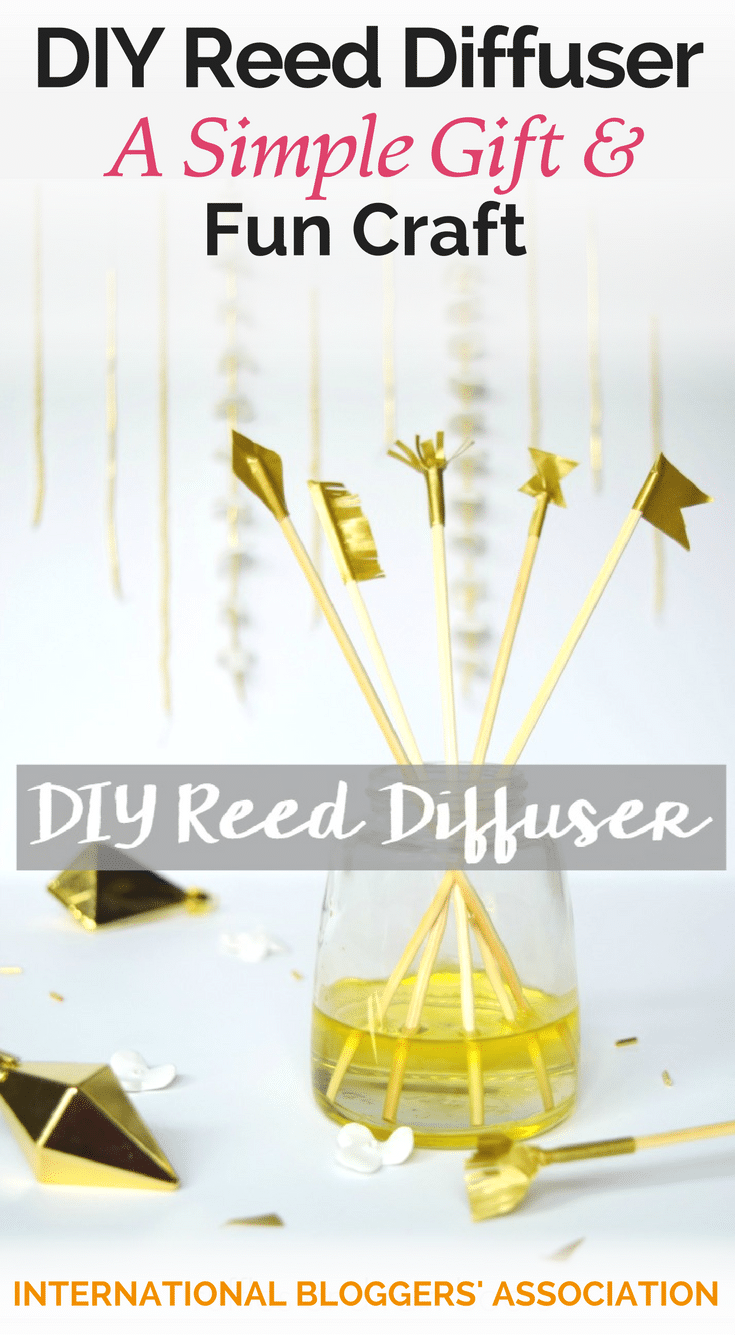 Looking for a simple gift or a fun craft? Or maybe you love the smell of essential oils? Look no further! Try this DIY reed diffuser today!