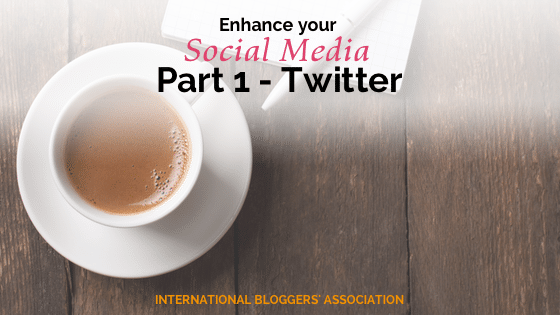 What can you do to maximize your social media presence? Enhance it! Make it pop! Set yourself and your blog apart from all of the others.