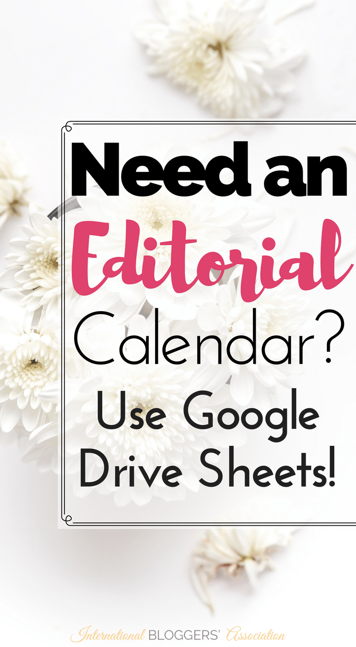 Did you know you can use Google Drive Sheets as an Editorial Calendar with a simple add-on? Julie from Fab Working Mom Life shows us how!