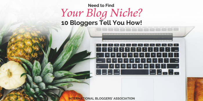 Need to Find Your Blog Niche? 10 Bloggers Tell You How!