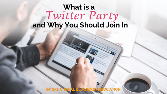 """If you're a blogger who is new to twitter you might be asking yourself """"What is a Twitter Party?"""" Let me explain and give you some reasons why as a blogger you should take part in these type of social media gatherings. I'll also share with you some top tips and tricks on how a Twitter Party works so that you can party like a pro."""