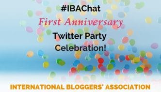 #IBAChat First Anniversary Twitter Party Celebration with Tons of Blogging & Biz Tips