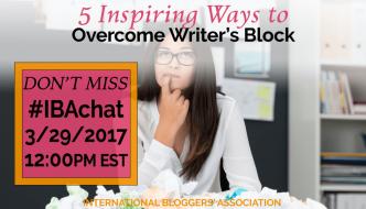 5 Inspiring Ways to Overcome Writer's Block