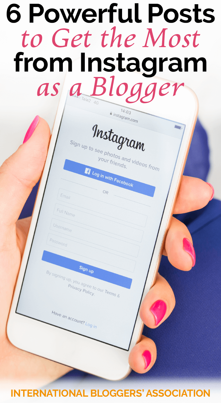 Savvy bloggers know Instagram can be a valuable marketing tool for any blog. These expert tips will help you get the most from Instagram as a blogger!