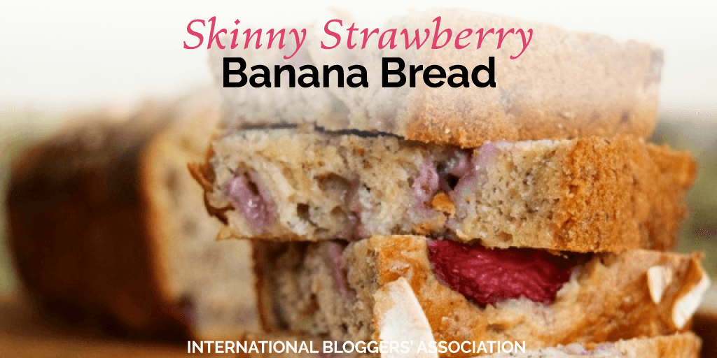 Skinny Strawberry Banana Bread