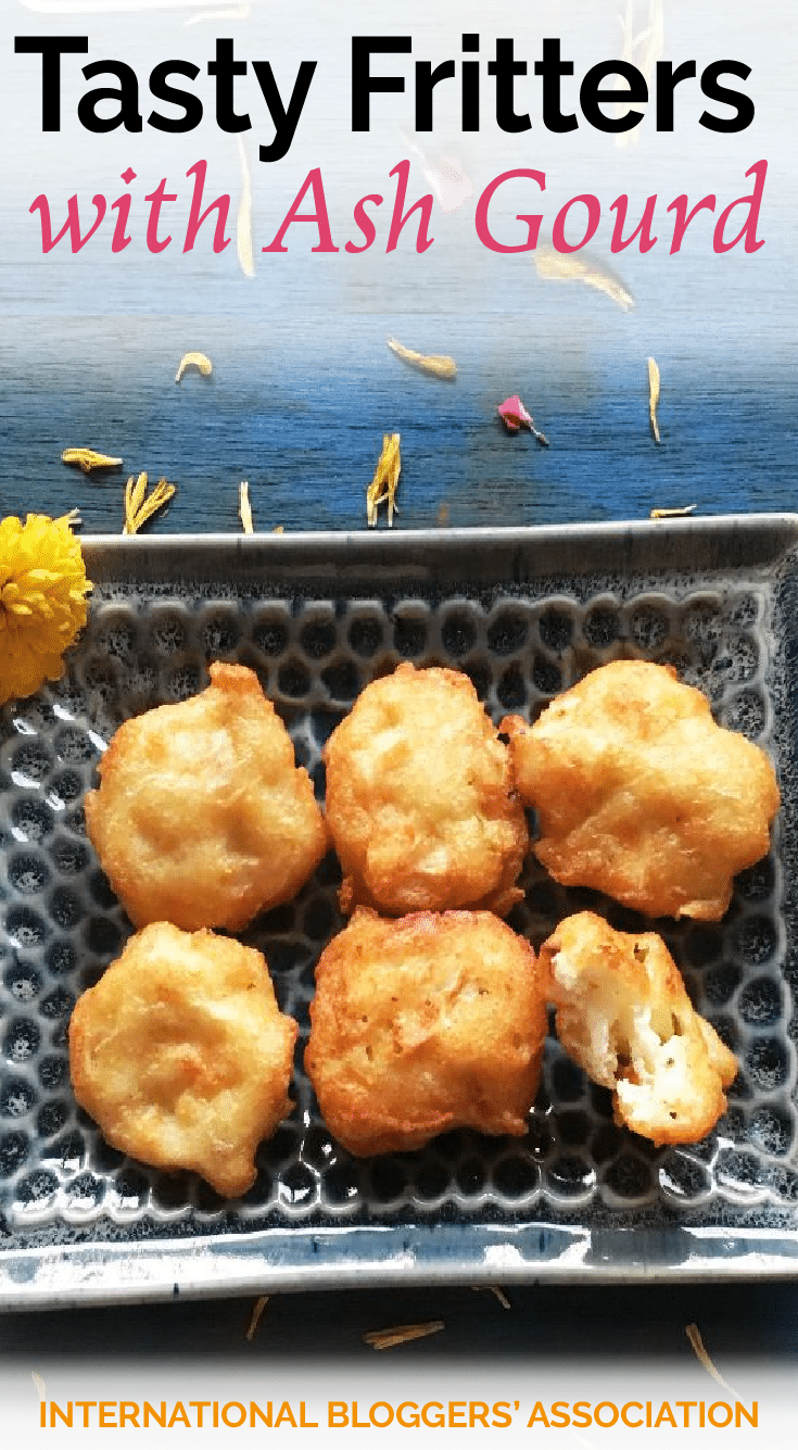 Try out these tasty snacks by Aparna Parinam and find some authentic Asian flavor from a wax gourd. Used in Indian cuisine, these delicious fritters...