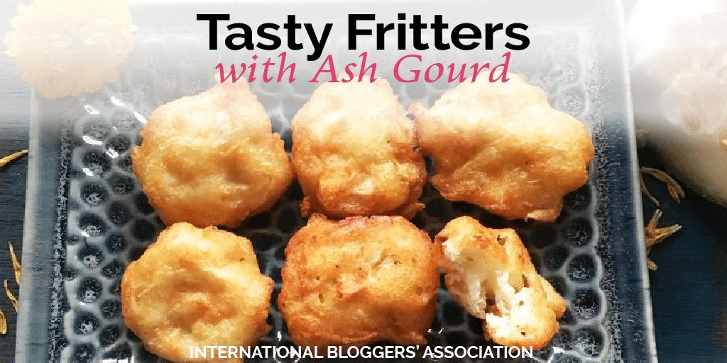 Tasty Fritters with Ash Gourd – Boodida gummadikaya 'pacchi vadiyalu'