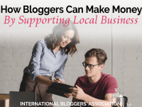 Did you know bloggers can make money by supporting local business? Yes, you can! Plus, your readers will love reading about local businesses!