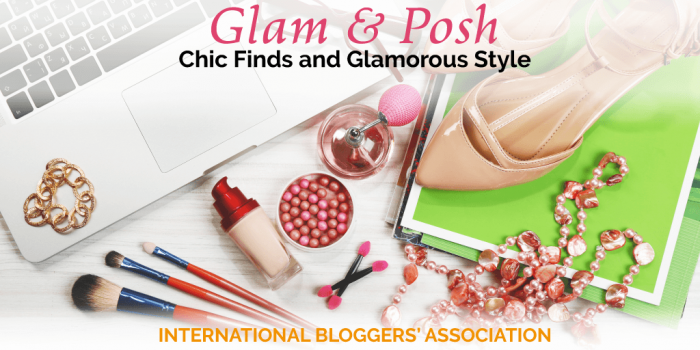 Glam & Posh: Chic Finds and Glamorous Style