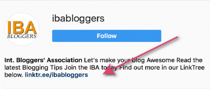 """Your Instagram profile only allows you ONE LINK. See how people at Linktree have solved that silly problem with their simple """"link tree"""" interface."""