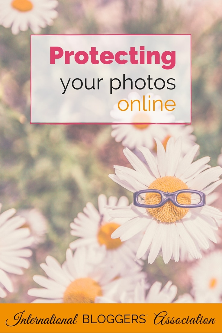 Protecting your photos online