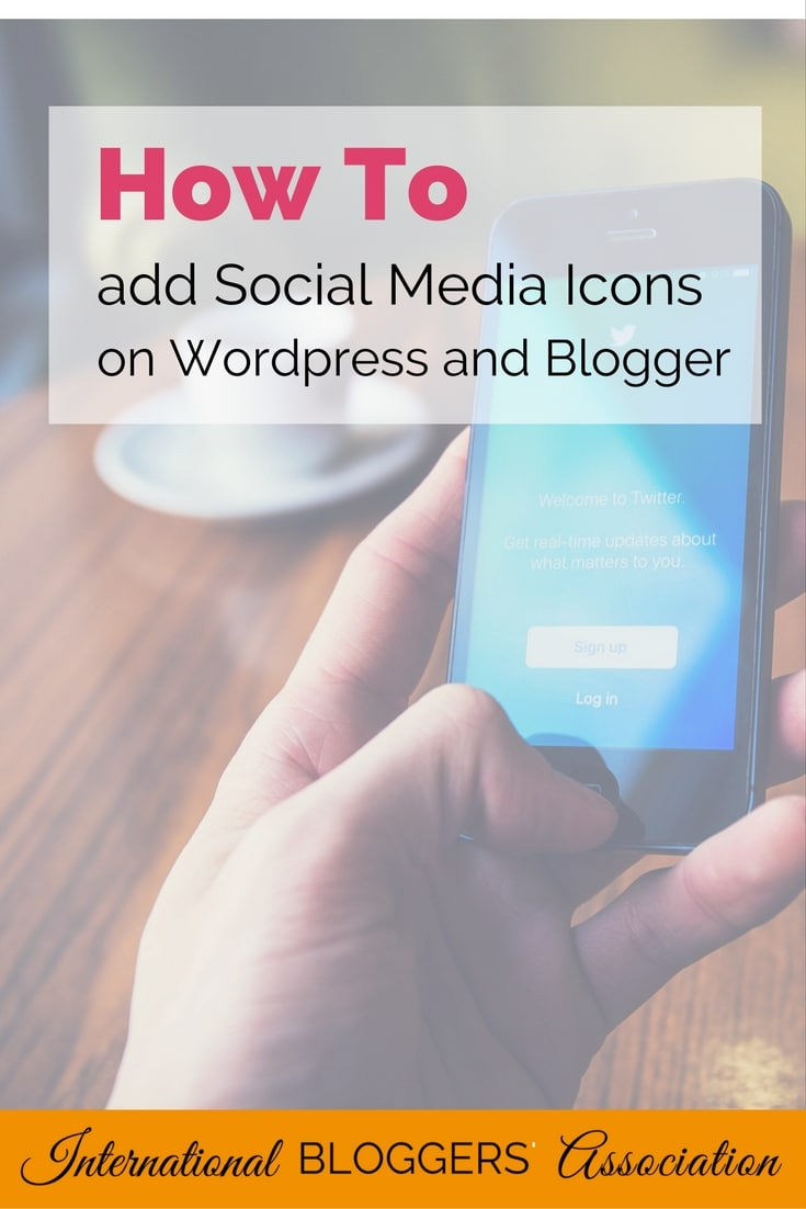 How To add social media icons
