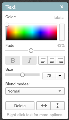 How to change color by color code in PicMonkey