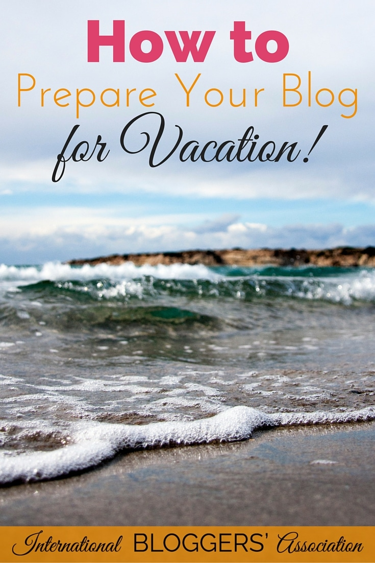 Are you ready to take a great vacation? But what should you do with your blog? Here are 6 great tips to help you prepare your blog for vacation.