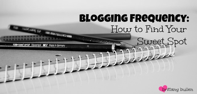Wondering how often is a good frequency for #blogging? Come read this!