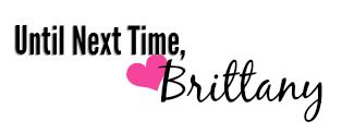 Brittany's signoff sig