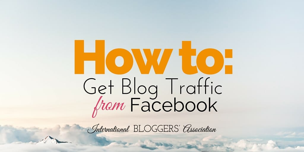 Even the best blogs need traffic and getting traffic is not the easiest thing to do. Learn how to get blog traffic from Facebook and see your stats grow!