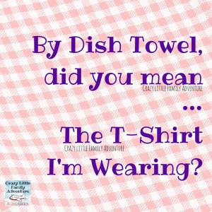 By Dish Towel, did you mean (1)