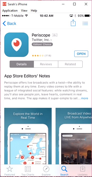 Get Started on Periscope_Download App