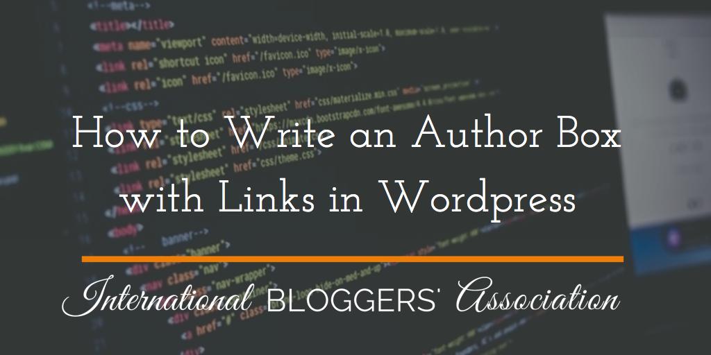 Tired of a plain author box without links to your social media profiles? Read this to learn how you can easily make your author box with links without any HTML knowledge or plugins!