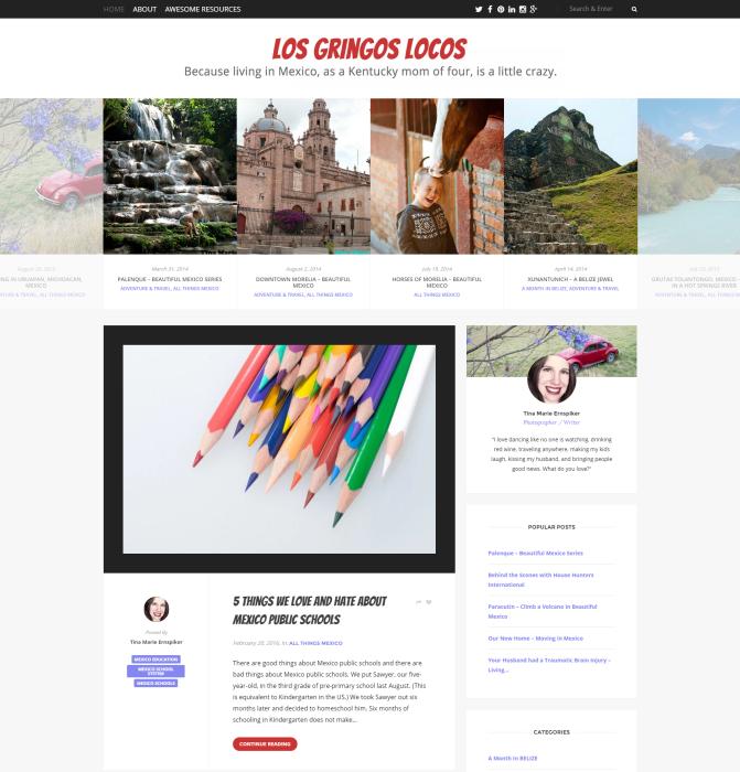 Wordpress Blog Theme: Josephine