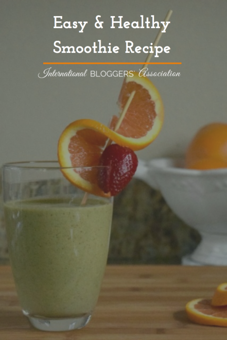 Smoothies are still my favorite way of getting additional vegetables into my family's diet and quick breakfasts are a must, especially for little ones who need to eat shortly after waking. You will love this simple, easy, and healthy smoothie recipe.