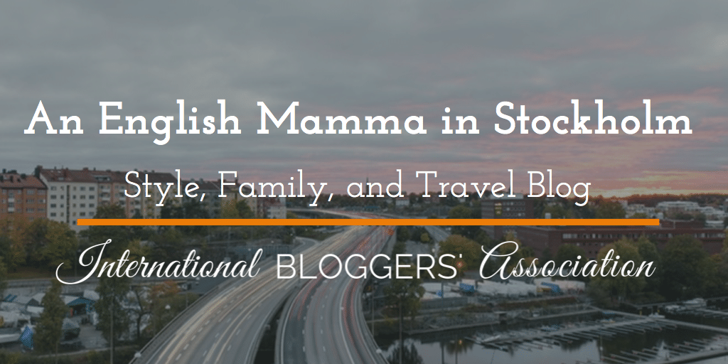 A fun IBA member interview with An English Mamma in Stockholm!