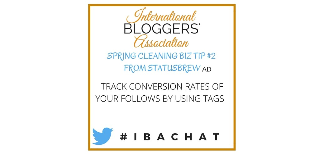 The weekly IBA Twitter Chats are a great opportunity to network with fellow bloggers from around the world as well as discuss business topics important to bloggers. Network, Chat, and Learn with the International Bloggers' Association every Wednesday at noon EST.